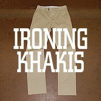 How to Care for Khakis