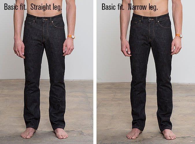 Todd Shelton straight leg vs. narrow leg