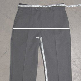 Do-it-Yourself Pant Measuring