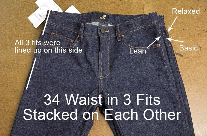 Best Fitting Jeans - waist