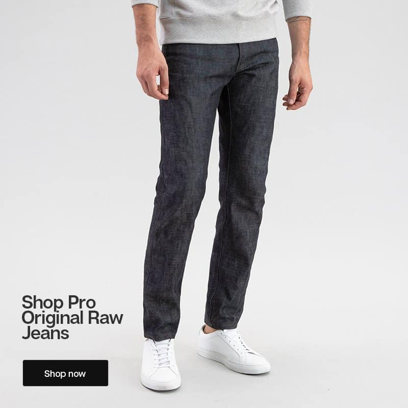 todd shelton raw selvedge jeans