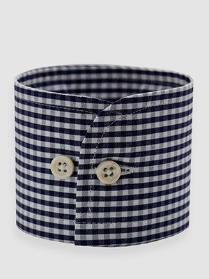Check Poplin Shirt Made in USA