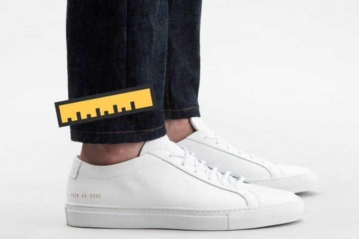 pant leg opening