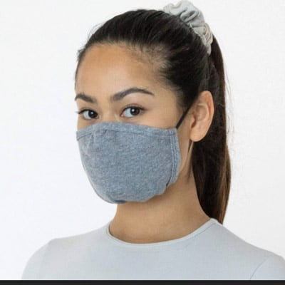 American Made Face Masks by Los Angeles Apparel