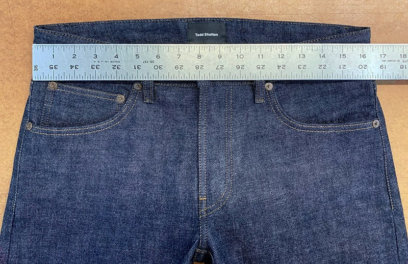 Jean Waist Measurement