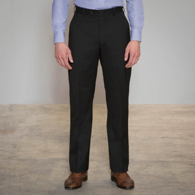 Proprietor Black Relaxed Fit Pants