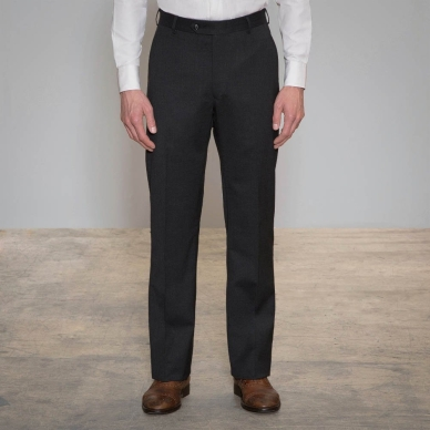 Proprietor Dark Grey Relaxed Fit Trouser
