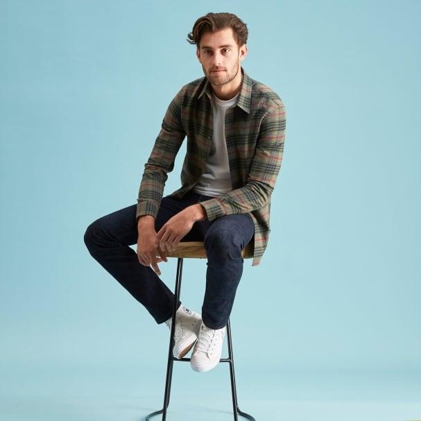 Sequoia Flannel Shirt - Point Collar