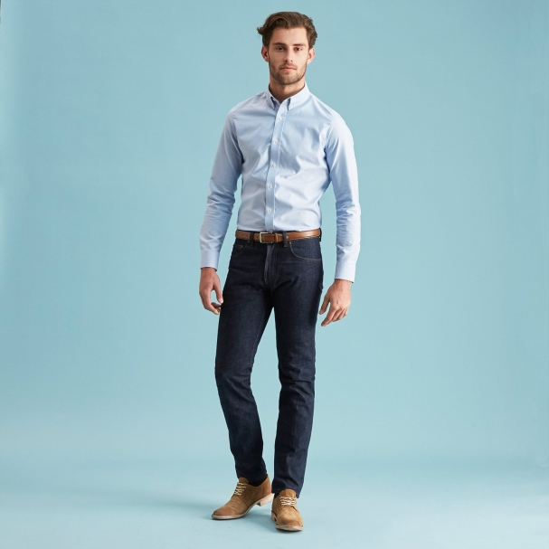Classic Oxford Shirt Blue - Made in America