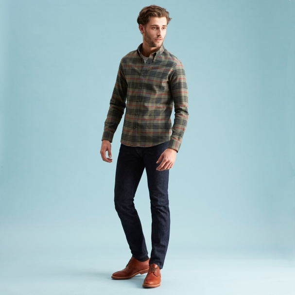 Sequoia Flannel Shirt - Button Down
