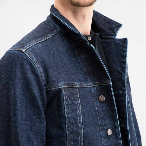 Selvedge Denim Jean Jacket