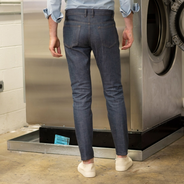 Factory Clean-Out / Space Light Raw Denim Jean