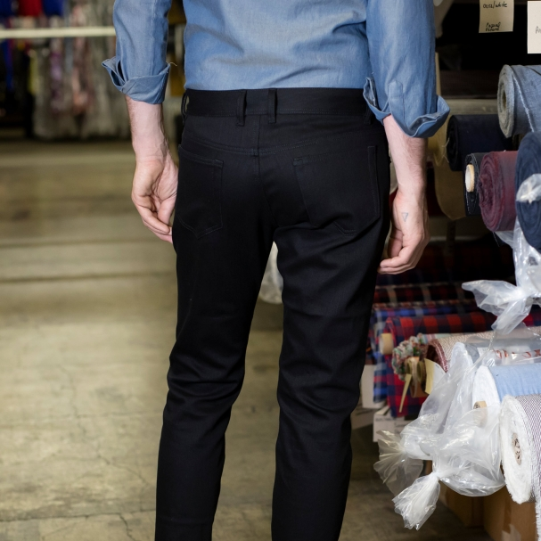 Factory Clean-Out / Black Stretch Jean