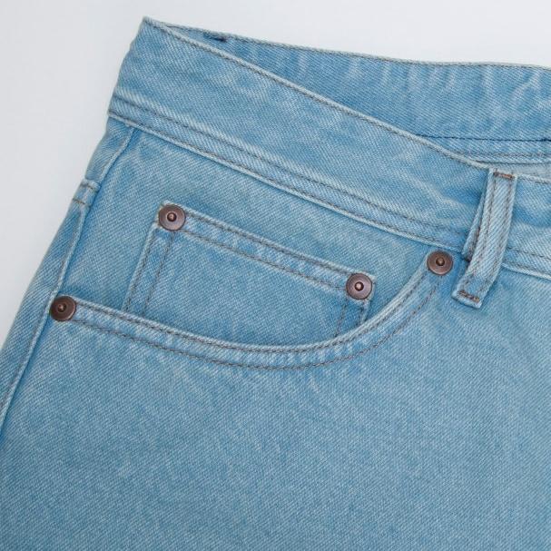 Light Wash Selvedge Denim Jean