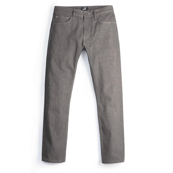 Grey Selvedge Dark Wash Jean