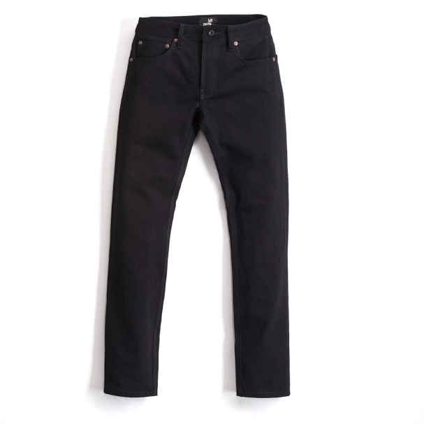 Todd Shelton Solid Black Jean Front View
