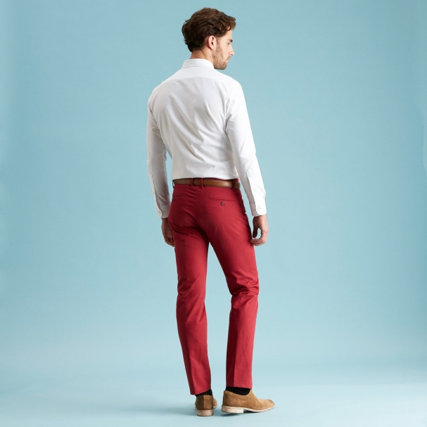 The American Khaki Maroon Todd Shelton Rear