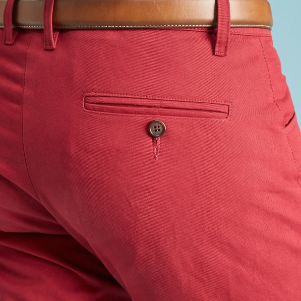 The American Khaki Maroon Todd Shelton pocket