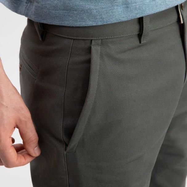Canvas Shorts Grey