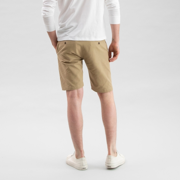 Canvas Shorts Tan