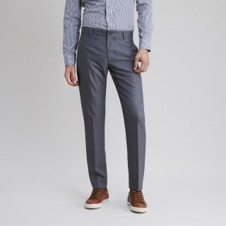 Captain Wool Light Grey Trouser