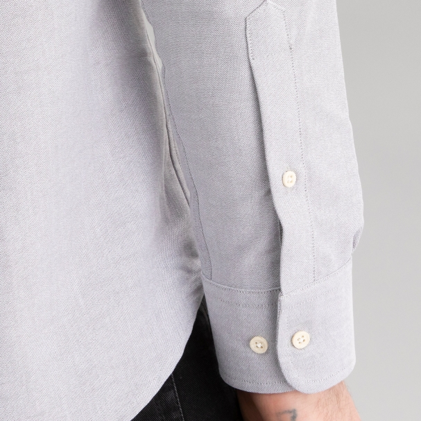 Oxford Shirt Light Grey