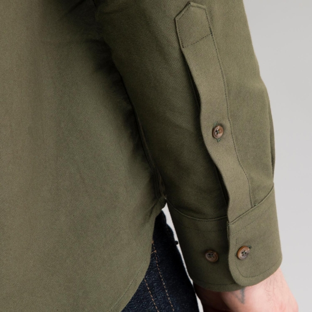 Oxford Shirt Olive