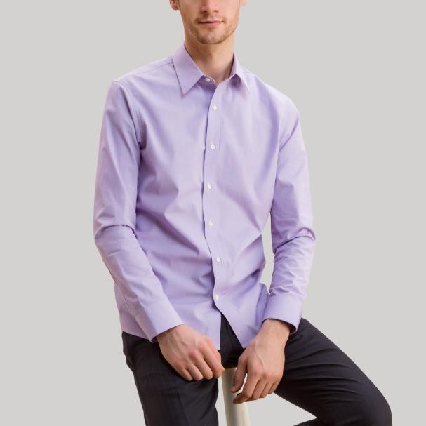 Men's Lavender Shirt Todd Shelton