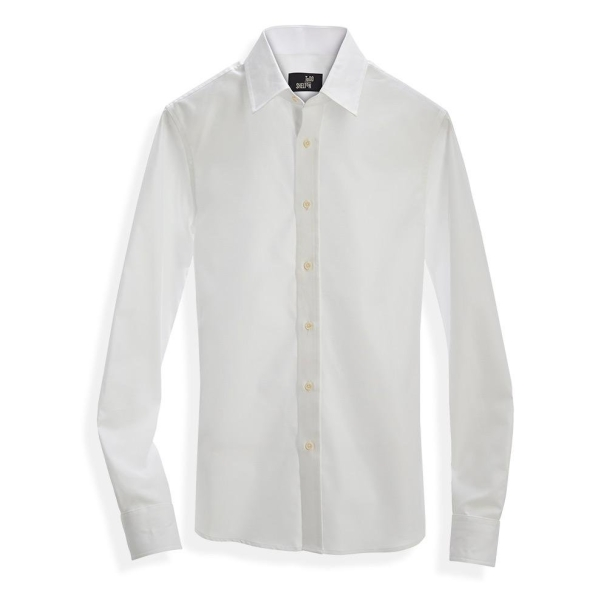Classic White Oxford Shirt - Todd Shelton