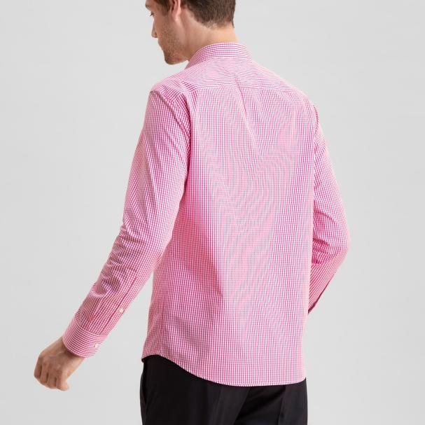 Deep Pink Gingham