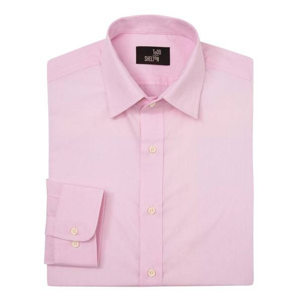 Pink Shirt Point Collar Shirt