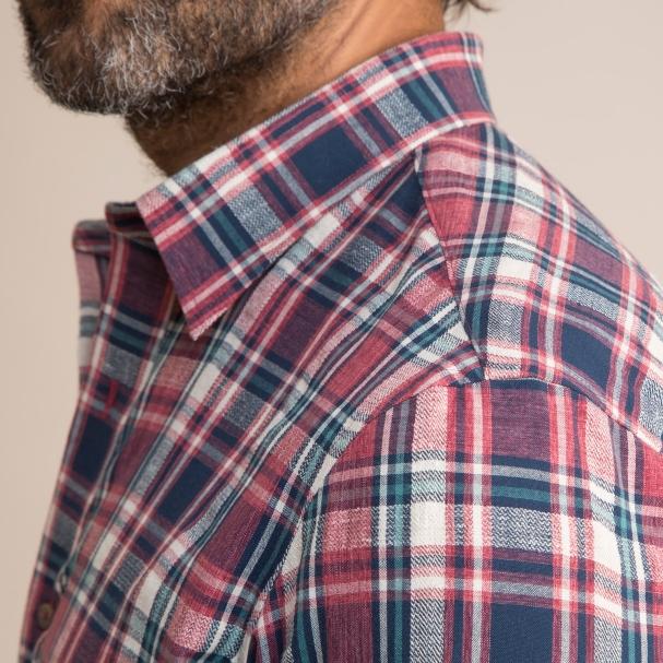 Hemp Plaid Shirt Todd Shelton
