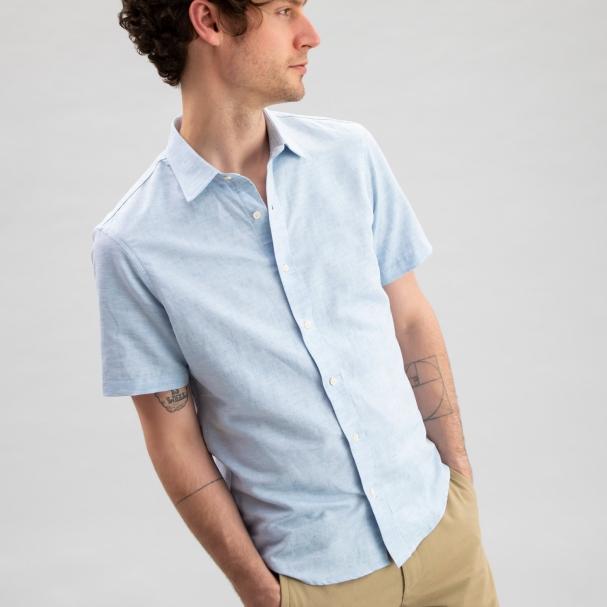 Linen Shirt Blue