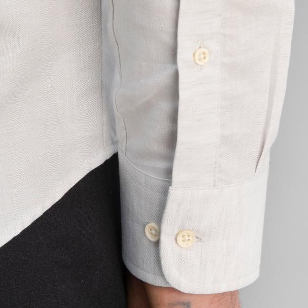 Linen Shirt Light Grey