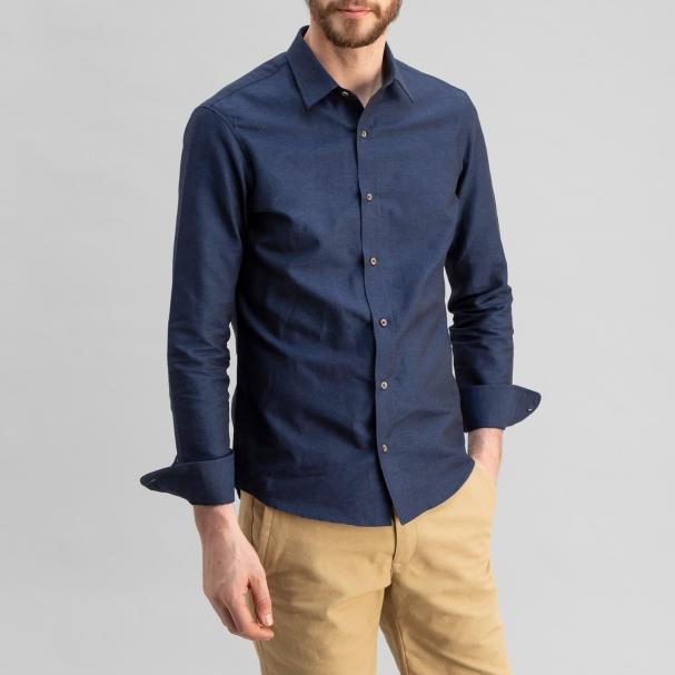 Linen Shirt Navy