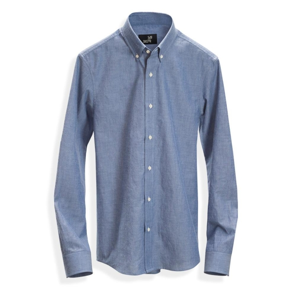 Natural Chambray Shirt Blue
