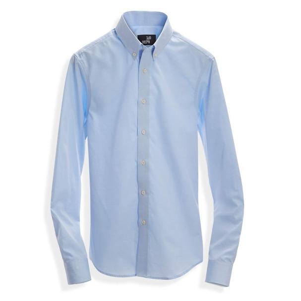 Standard Poplin Shirt Blue - Point Collar