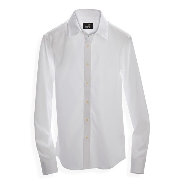 Standard Poplin Shirt White - Button Down