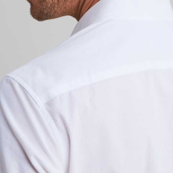 Chambray Shirt White