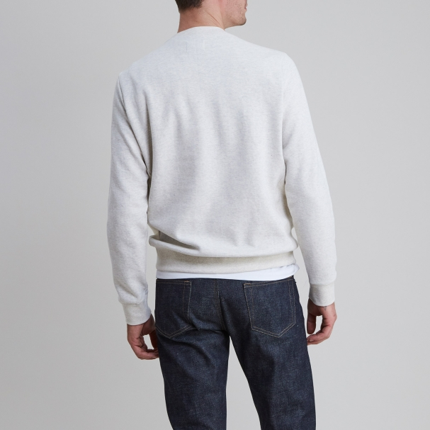 Classic Sweatshirt Heather Ash