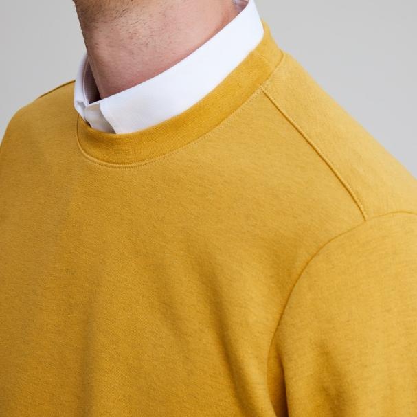 Classic Sweatshirt Mustard