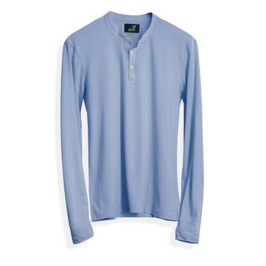 Light Blue Henley