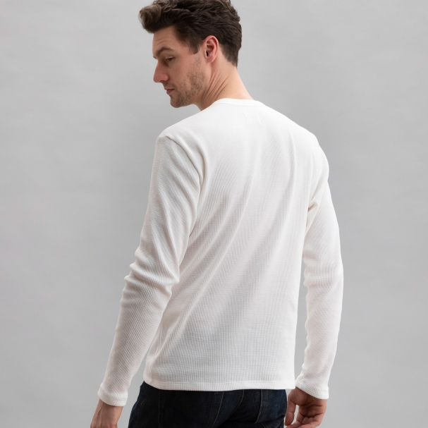 Thermal Waffle Crew White