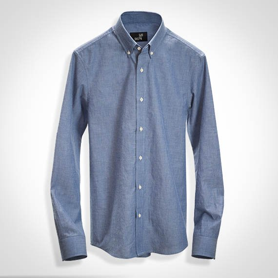 Chambray Shirt Todd Shelton